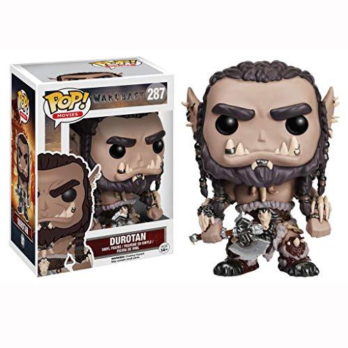 Nologo YYBB Pop-Figur!Filme: Warcraft - Durotan Sammlung Action-Figur Kinder Geschenke Spielzeug Haus Dekoration Statue Ziermeisterwerk Abbildung 3.9 Zoll Figurines