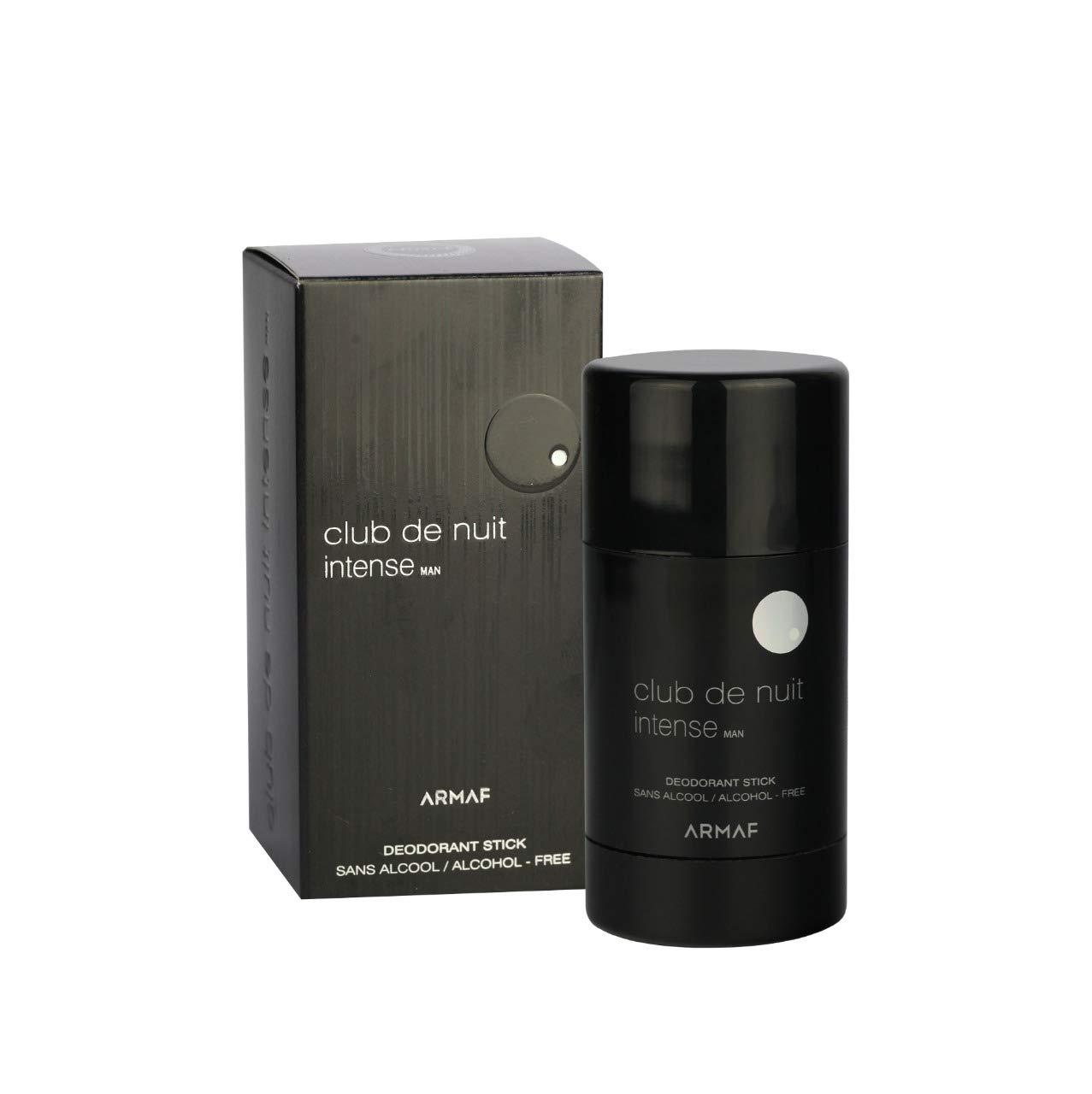 2 Japan Maker New Pack of Armaf Club De Nuit Deodorant Men oz Price reduction 2.65 Intense Stick