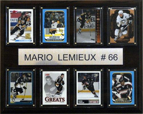C&I Collectables NHL Mario Lemieux Pittsburgh Penguins 8 Karten, 30,5 x 38,1 cm