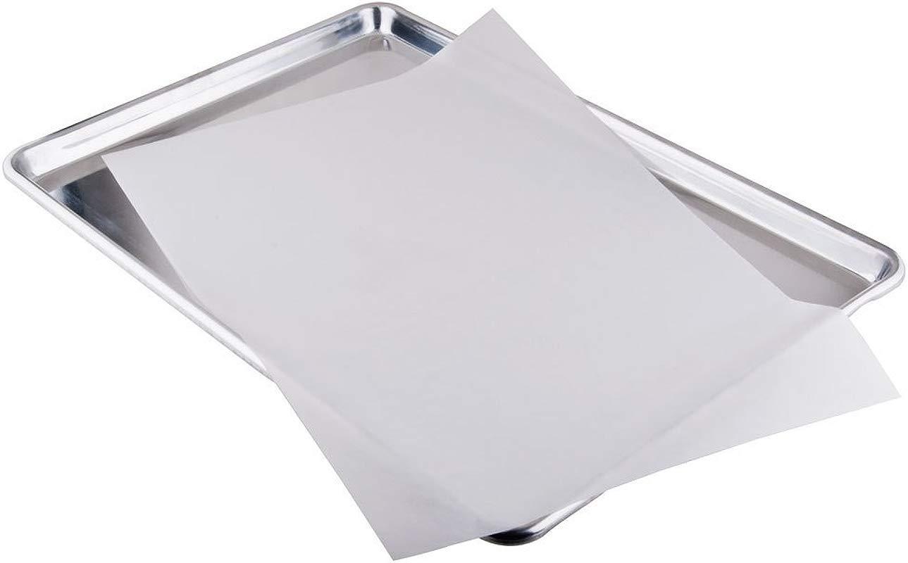 SafePro PL 16x24 Inch Quinlon Parchment Paper Bakery Liners Baking Parchment Sheets Paper Grease Resistant Liner 500