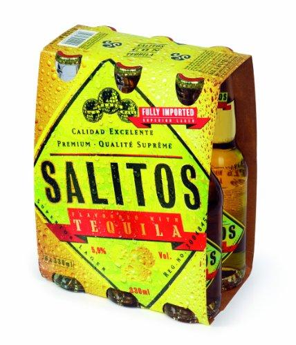 6 Flaschen Salitos Tequila Imported 0,33L Mix 5.9% vol. inc. 0.48€ MEHRWEG Pfand