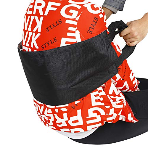 Fushida Transfer Sling Pad,Bed Positioning,Medical Transfer Board with Durable Handles,Standing Up Assist Gait Belt Harness for Disabled Elderly, Extended (L x W) 29.5