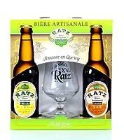 Superbe Idée cadeau - Coffret Bières artisanales pour découvrir en toute simplicité ces bières d'exceptions Bières brassées dans le Sud de la France, de nombreuses fois médaillées lors du concours agricole de Paris Ce coffret cadeau Bières contient 1...