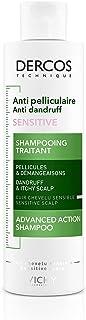 VICHY Dercos Sensitive Shampoo, antiroos, 200 ml