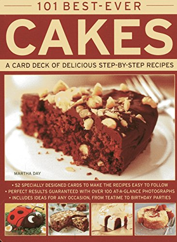 101 Best-ever Cakes: A Card Deck of Delicious Step-by-step Recipes (Cards in a Tin) (Cards in a Box) by Martha Day (18-Dec-2012) Cards