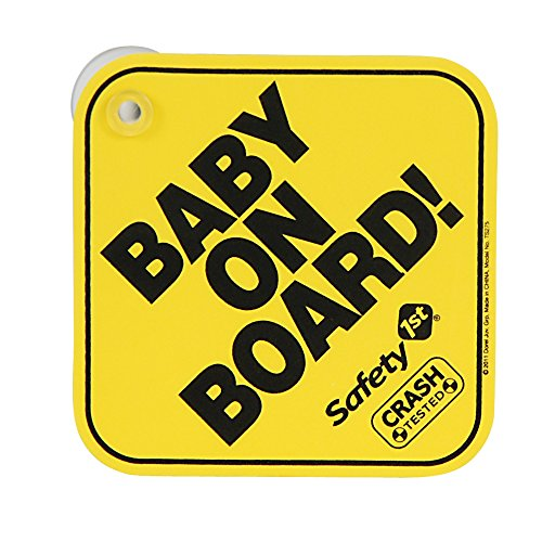 Safety 1st Baby on Board en mousse et Mom-to-be trottoir
