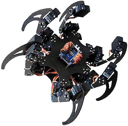 Unbekannt Baoblaze 6 Fu pinne Roboter Bausatz Intelligentes Spielzeug Interaktives Spielzeug, aus Acryl - Ruderdisk