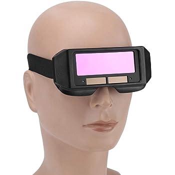 Darkening Welder Cap Solar  Helmet  Goggles Lens Welding Lens Filter Shade Tool