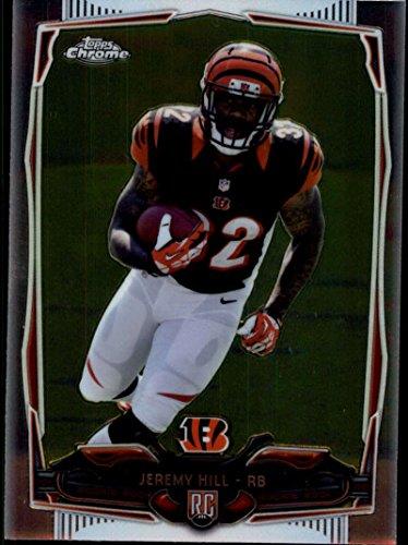 Football NFL 2014 Chrome Rookies #125 Jeremy Hill NM-MT RC Bengals