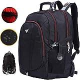 Freebiz 60L 18.4''Sac à Dos Ordinateur Portable PC Couvercle Imperméable Backpack Laptop avec Pris USB Anti-choc Gaming Laptops...
