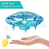 semai UFO Drohne, UFO Flying Ball, Kinder Mini Drohne, Fliegender Ball Handsteuerung, Flugzeuge Spielzeug, Hubschrauber Quadrocopter mit 360°Rotierenden und LED-Leuchten, Geschenke für...
