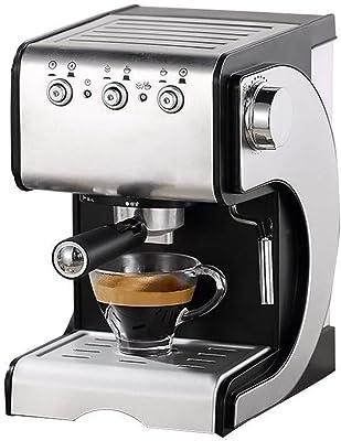 TD Espresso Machine 20 Bar, Capuccino, Milk Foam, 1050 W,Steam Nozzle Capacity 1.5L One Touch Control Relieve Fatigue