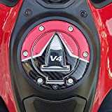 Adhesivo 3D de protección de la Tapa del depósito Compatible con Ducati Multistrada V4 2021