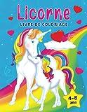 Licorne livre de coloriage: Pour...