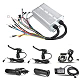 Dioche Motor Controller Kit, 36V/48V 1500W Electric Brushless Controller LCD Panel Kit for E-bike Electric Bike Scooter