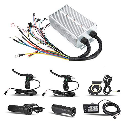 Dioche Kit de Controlador de Motor, 36V / 48V 1500W Kit de...