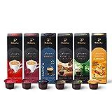 Tchibo Cafissimo Probierset Espresso Edition verschiedene Sorten Espresso, 60 Stück (6x10 Kaffeekapseln), nachhaltig & fair gehandelt