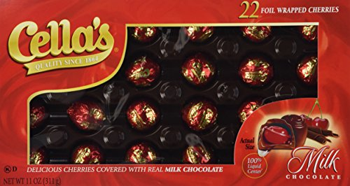 Cella's Milk Chocolate Covered Cherries 11oz. from Tootsie