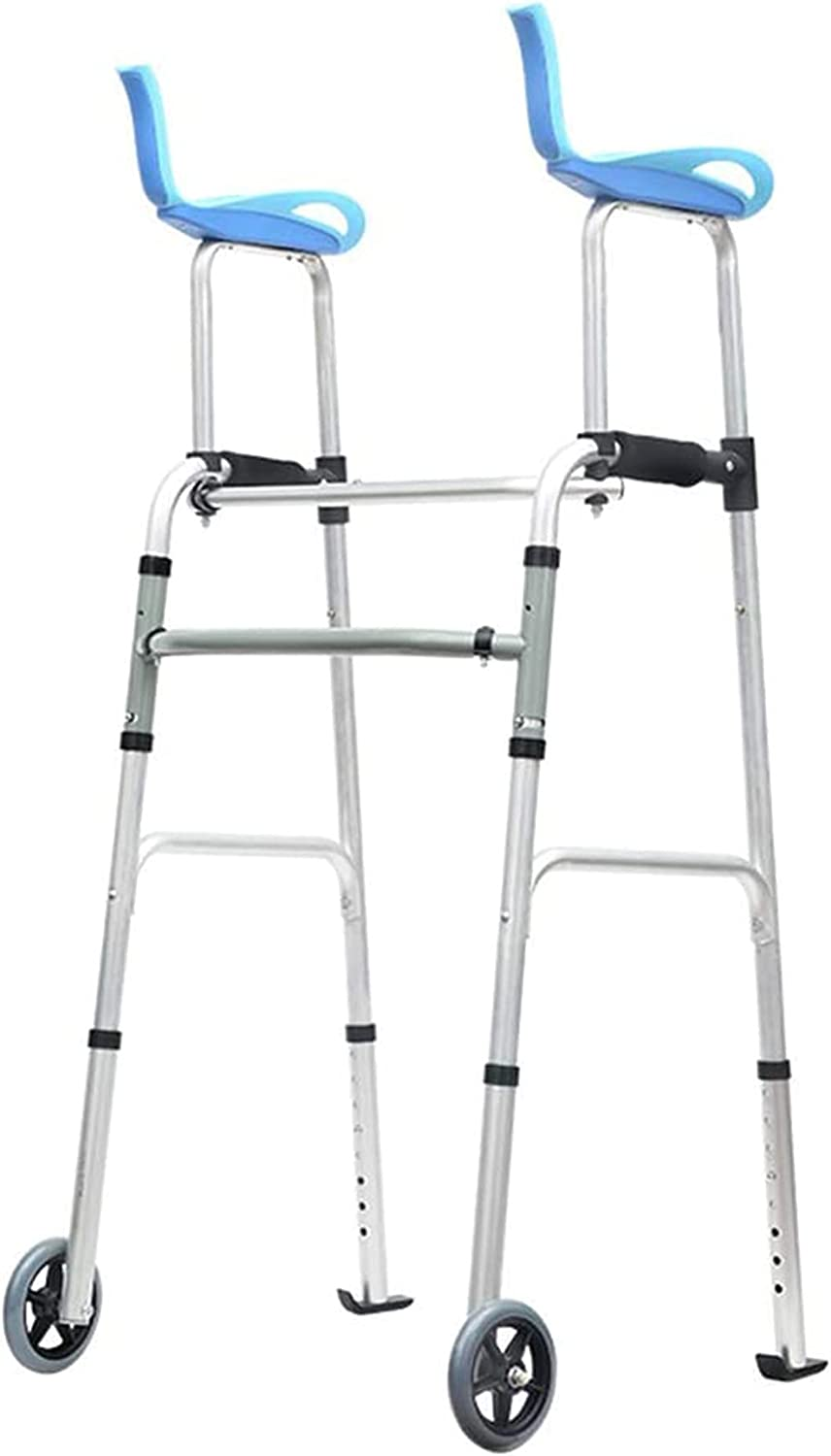 DONGSHUAI Compact Folding Walker with for Seniors Support Arm Over item handling Ranking TOP17 A