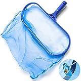 Eunchaes Pool-Reiniger-Netz, Pool-Rechen, Skimmer und Netz, Laubkescher, Rechen, Netz für Spa, Teich, Schwimmbad, Poolreiniger und Zubehör