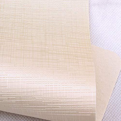 MAGFYLY Cuero Material Tela de Cuero Sintético, Cuero Sintético Imitación de Cuero Material de Tapicería for Tapizar - por Metro (Color : D)