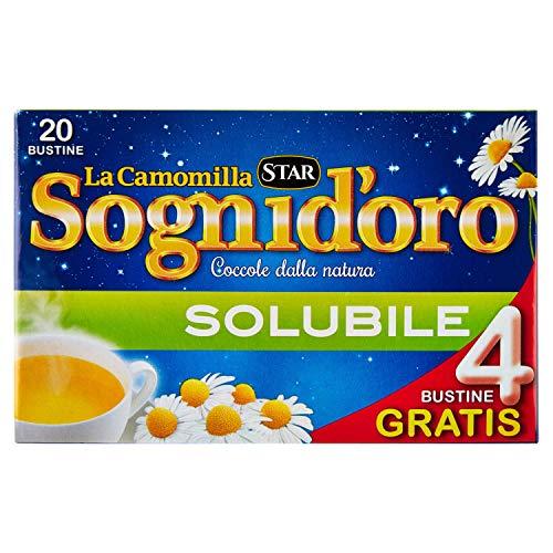 Sognid'oro - Estratto zuccherati, di Matricaria Camomilla, solubile - 100 g 20 bustine