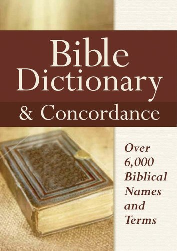 Bible Dictionary Concordance Castle Books
