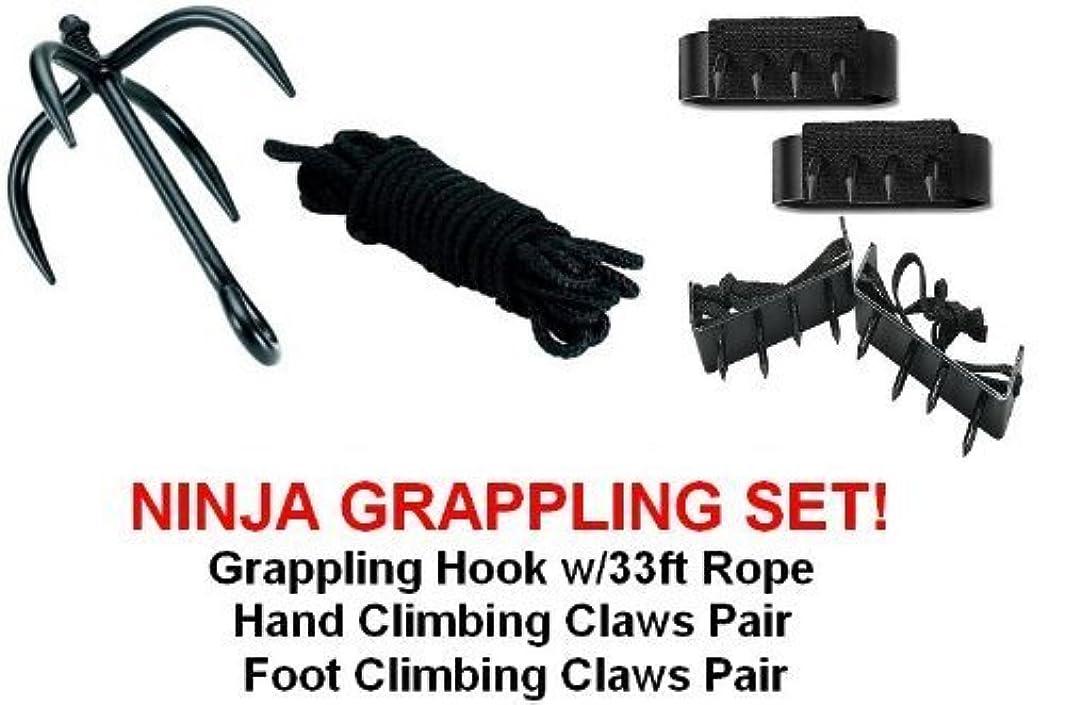 Ninja Grappling Set Climbing Hook Foot Hand Claws Gear by SuperKnife ahheocgfr78