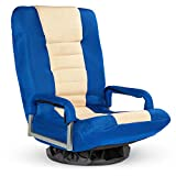 Best Choice Products Multipurpose 360-Degree Swivel Gaming Floor Chair for TV, Reading, Playing...