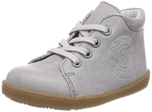 Däumling Baby-Mädchen Pauline Sneaker, Grau (Fortuna Elefant 84), 19 EU