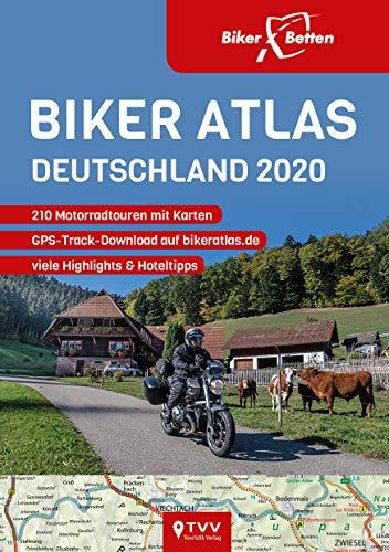 Biker Atlas DEUTSCHLAND 2020: 200 Motorradtouren