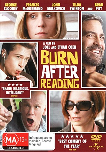 Burn After Reading   NON-USA Format   PAL   Region 4 Import - Australia