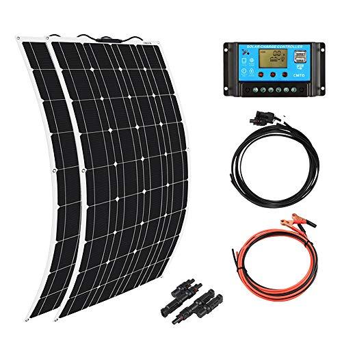 XINPUGUANG 2pcs 100w Monocrystalline Solar Panel