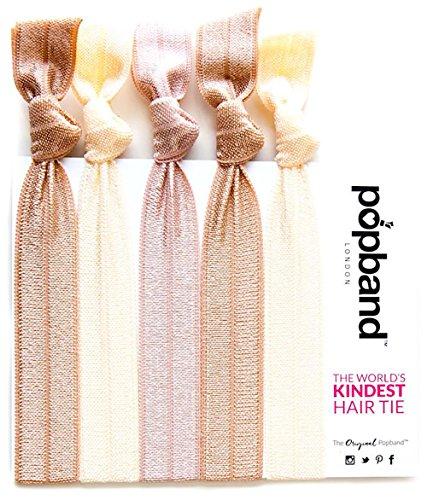 Popband London Blondie Hairband Beige - Pacco da 3 x 16 gr