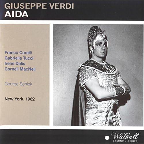 Orchestra of the Metropolitan Opera House, Franco Corelli, George Schick & Irene Dalis