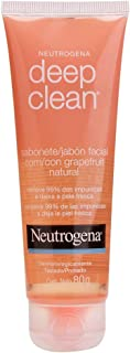 Sabonete Facial Deep Clean Grapefruit, Neutrogena, 80 g