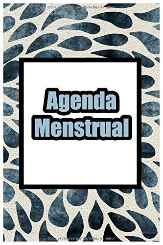 Agenda Menstrual: Calendario Para Ciclo Menstrual / Periodo Diario / Espanol