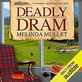 Deadly Dram audiobook cover art
