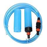 Scambiatore di Acqua Semi-Automatico per acquari Serbatoio per Sabbia e Ghiaia Pulitore per Sabbia per acquari Filtro per Acquario Serbatoio per sifoni Attrezzi per la Pulizia(L)