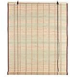 Ev Tapparella Carolina in Bamboo c/carrucola c/cot. 120x250 cm Porta Finestra Privacy Luce