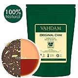 VAHDAM, Hoja original india Masala Chai - 100 tazas, 200 gramos - Mezcla perfecta de té negro, canela, cardamomo, clavo y pimienta negra - Receta para la antigua casa india - De la India | tea