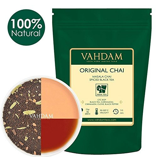 VAHDAM, Hoja original india Masala Chai - 100 tazas