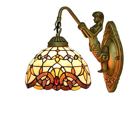 Muurlamp design nacht milieuvriendelijk slaapkamer hal wandlampen prachtige elegante zeemeermin. wandlamp