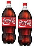 2 Coca Cola 2 Liter bottles (coke 2l 2pk)