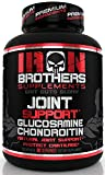 Joint Support Supplement - 1500mg Glucosamine Chondroitin with MSM & Turmeric | Anti Inflammatory Pain Relief | Formula for Joint Health & Increased Mobility - 90 Veggie Capsules - 30 Servings