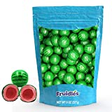 Wicked Watermelon Gum Balls Fruit Flavored, Candy Buffet Treats, Machine Size Refills, Kosher Certified Parve, 1' Inch (28 Count (Half-Pound))