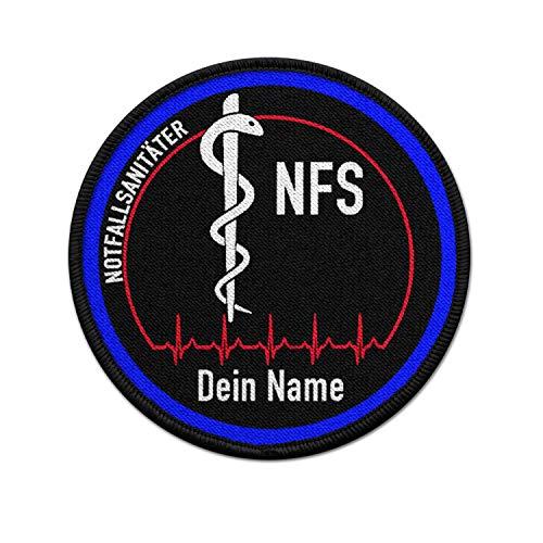 Copytec Parche de la NFS personalizable, para sanitarios de emergencia, médicos, 75 mm, #36780