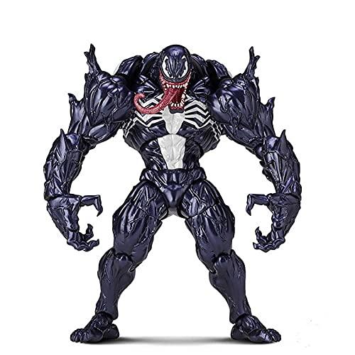 Xiao Yu Figura De Acción De Venom,  Figura De Acción De Spiderman De Venom Carnage con Caja Modelo De Colección De Asesino De PVC,  16 Cm (Tamaño : 16cm)
