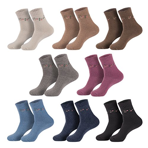 6 Paar Angora-Damen-Socken,5035 Größe 35-38