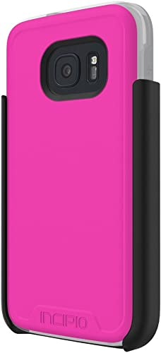 high quality Samsung online sale Galaxy S7 case, Incipio [Performance Series] Level 4, Ultra-Rugged Drop Protection Polycarbonate-Shell Scratch-Resistant 2021 Hybrid Cover - Pink/Gray online sale